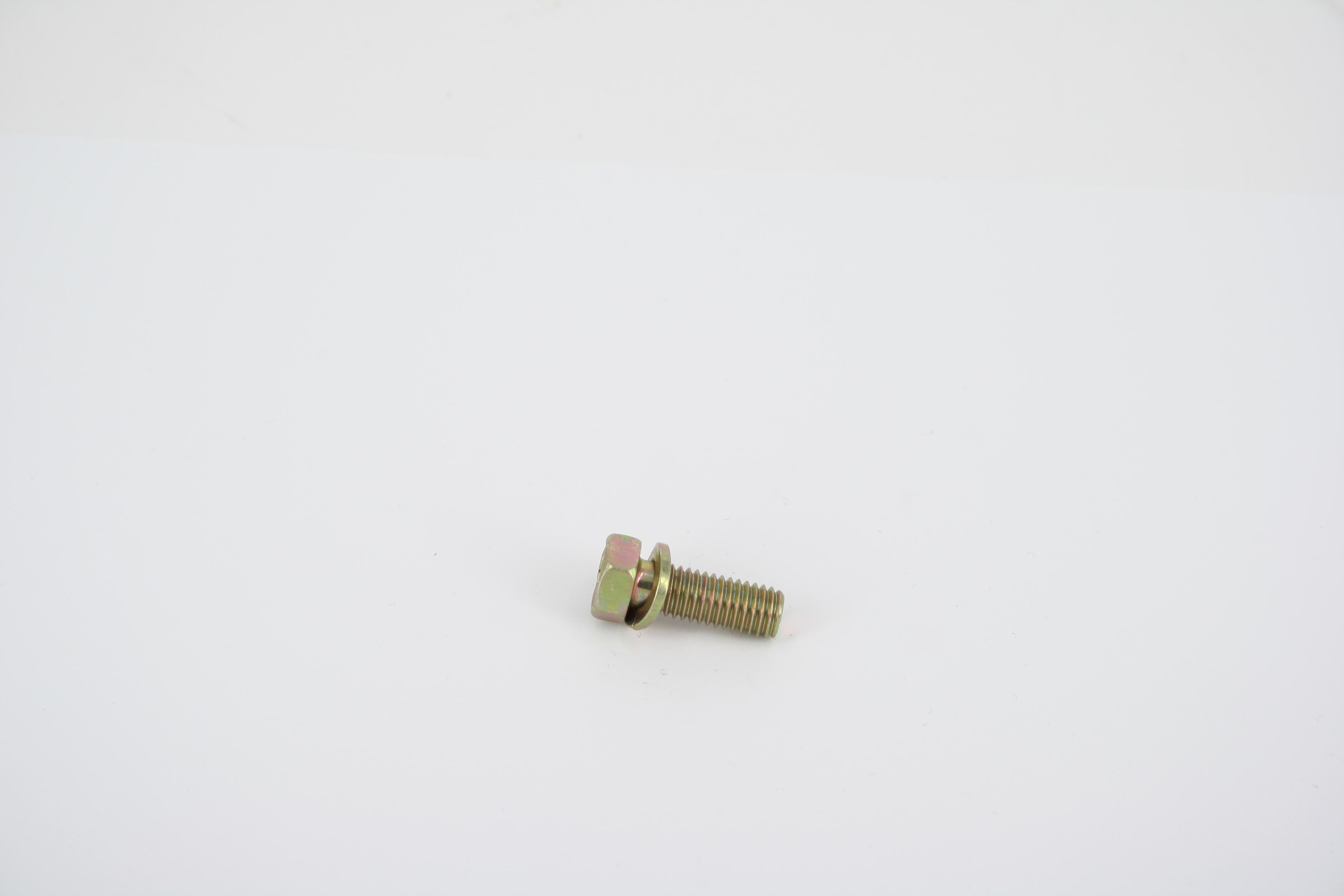 bolt M6x16- hex head w-washer